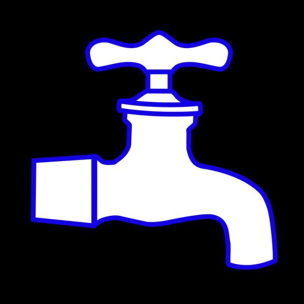Faucet Blue PNG Clip art