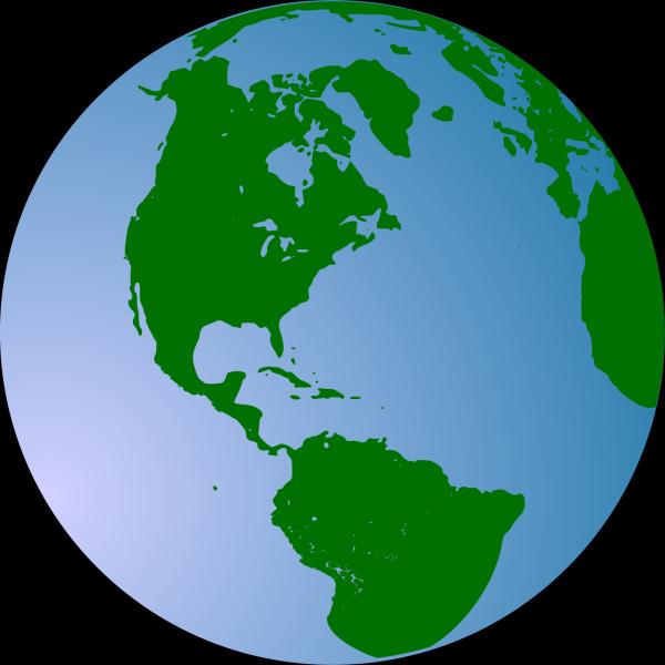Globe Blue 2 PNG Clip art