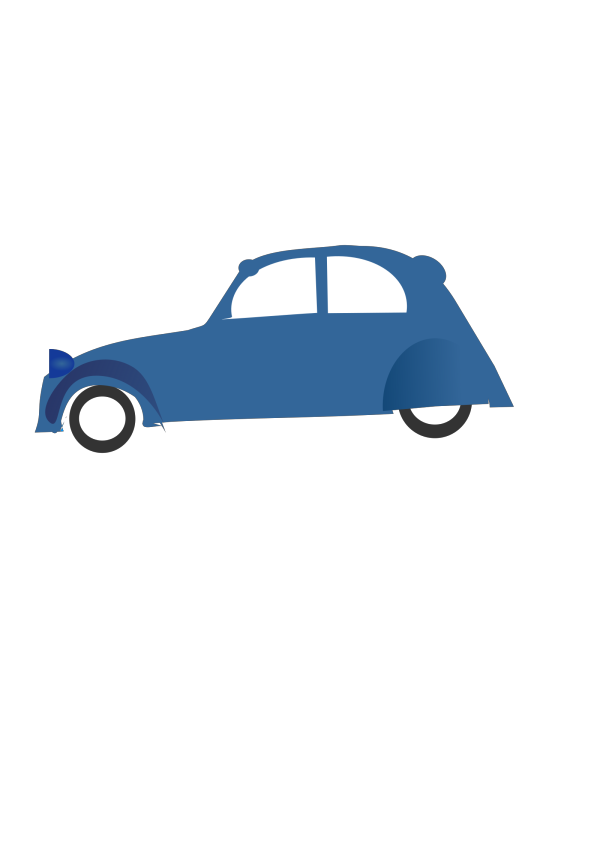 Blue Car PNG icons