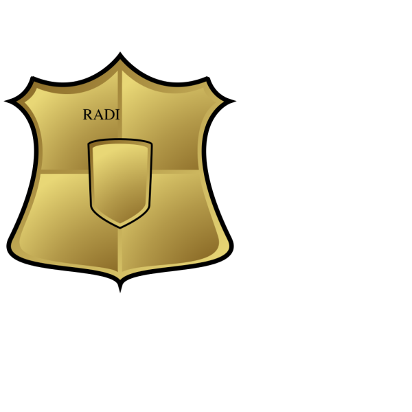 Gold Shield PNG Clip art