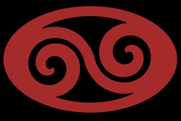 Floral Swirl Upper Left PNG Clip art