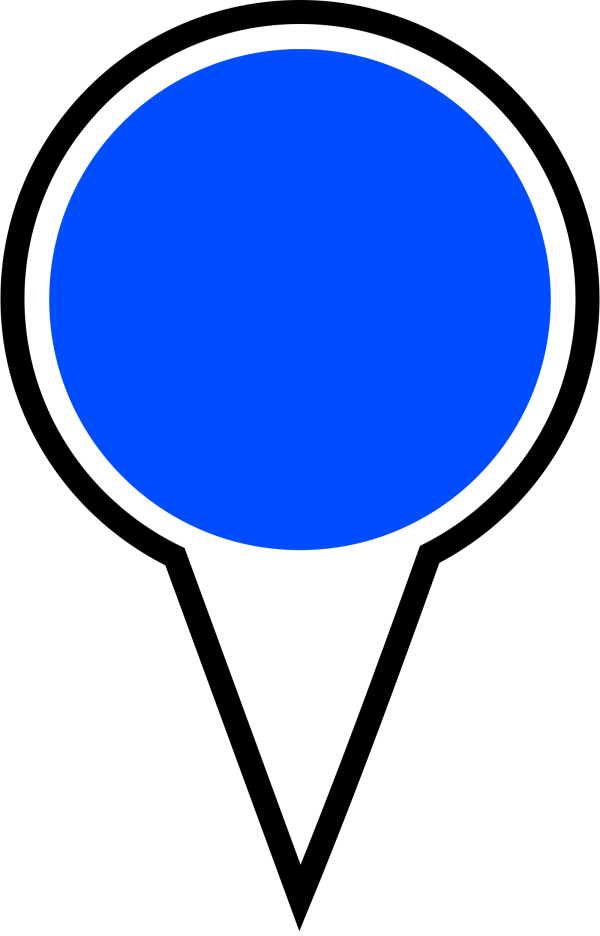 Blue-pin PNG Clip art