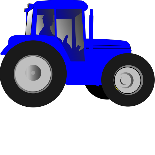 Tractor PNG clipart