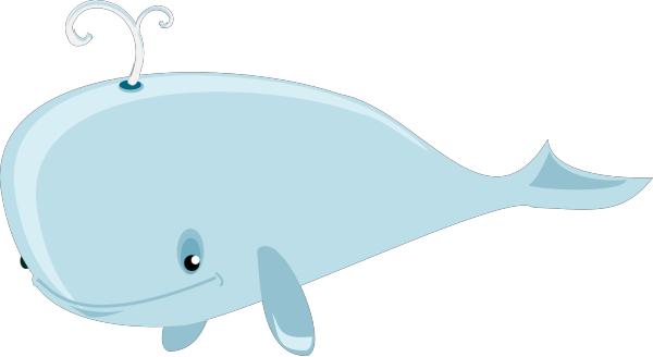 Blue Whale PNG clipart