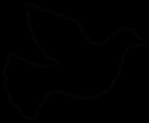 Blue Dove Right PNG Clip art