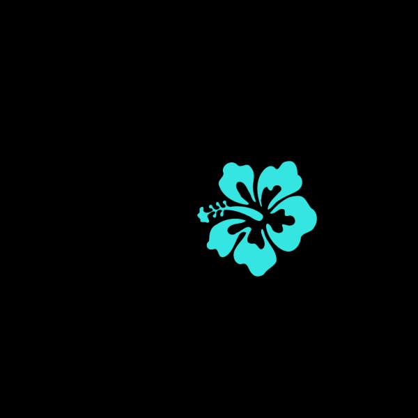 Hibiscus Trio PNG Clip art