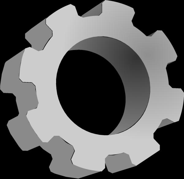 Gear Blue PNG Clip art