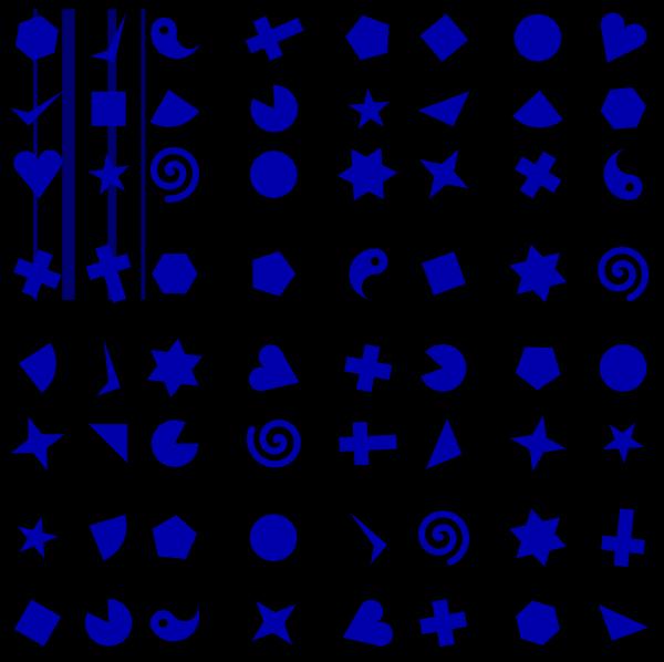 Blue Spiral PNG Clip art
