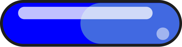 Blue Rec Button PNG clipart