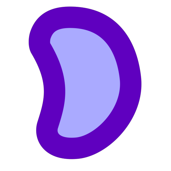Blue Jelly Bean PNG images