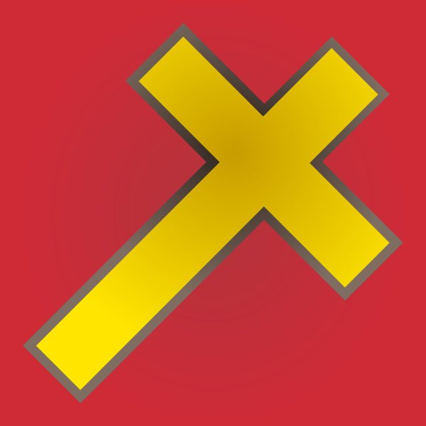Cross Flag  PNG Clip art