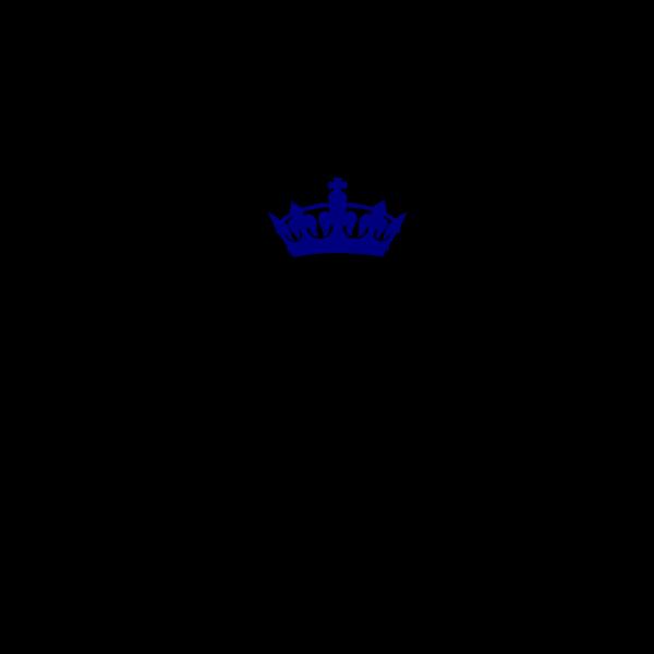 Blue Crown PNG Clip art