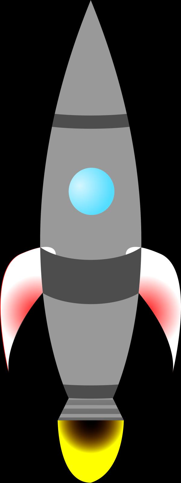 Rocket Swoosh Blue  PNG images