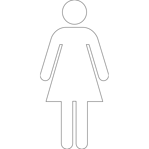 Woman Lineart PNG icons