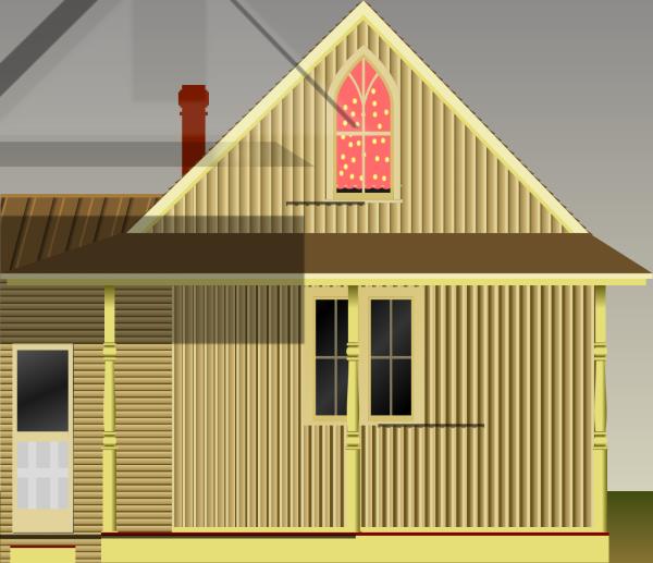 Blue House PNG Clip art
