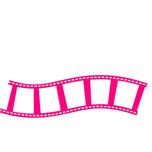 Film Strip Bleu PNG Clip art