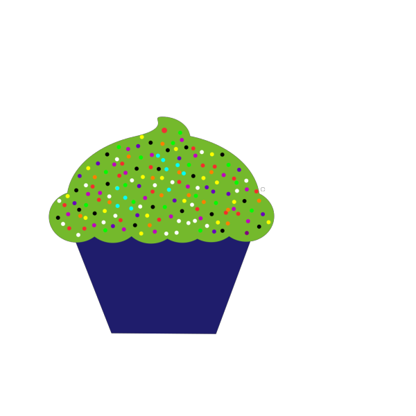 Cupcake PNG clipart