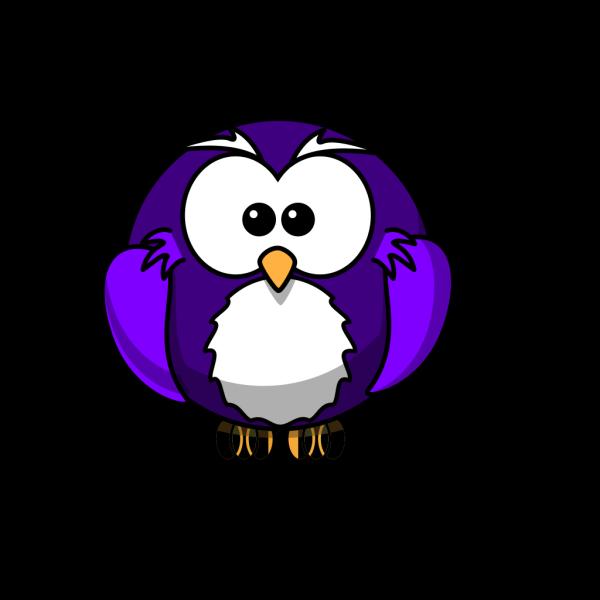 Purple Owl Blue Egg PNG Clip art