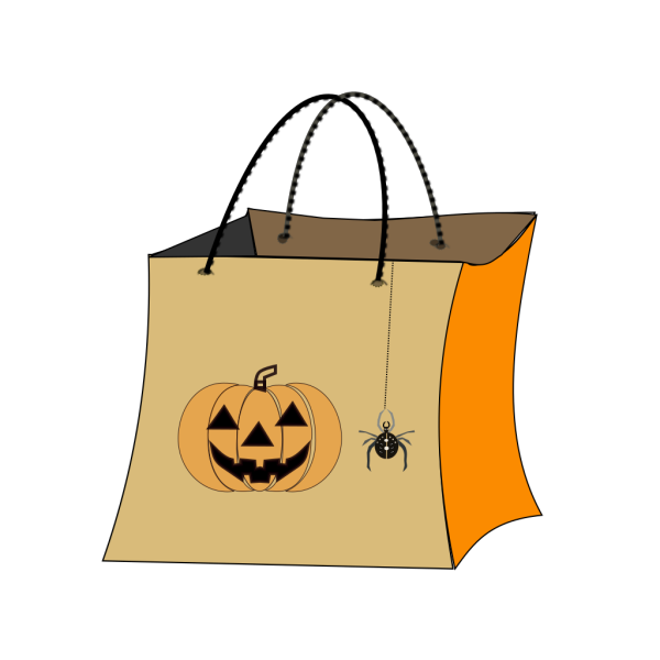 Trick Or Treat Bag PNG Clip art