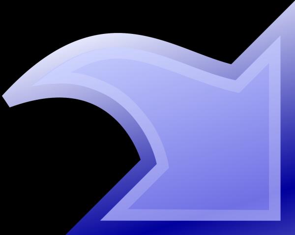 Swirl 1 In Blue PNG Clip art