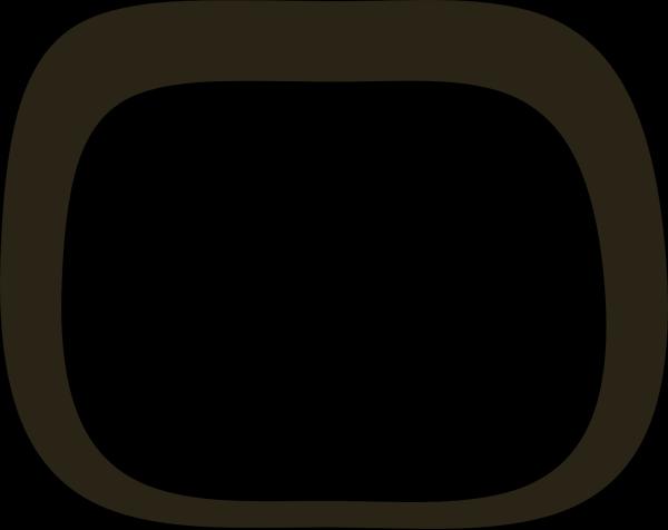 Thin Blue Profile PNG Clip art