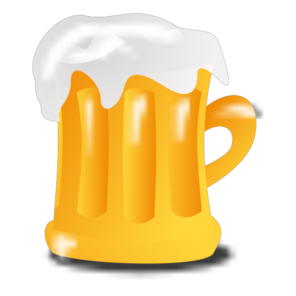 Blue Beer Mug PNG images