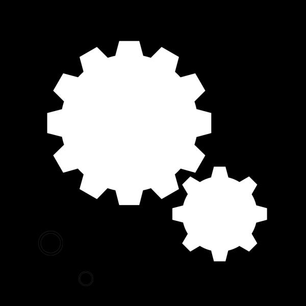 Simple Gears PNG Clip art