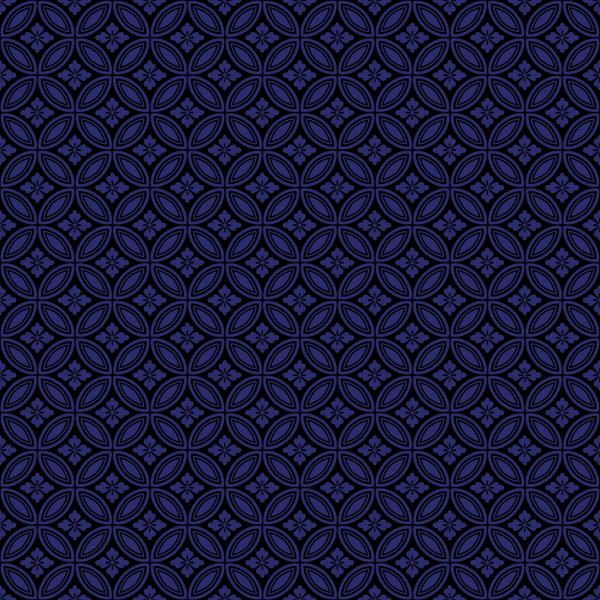 Blue Floral Vine PNG Clip art