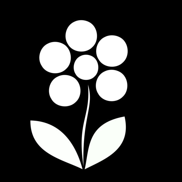 Blue Flower Power PNG Clip art
