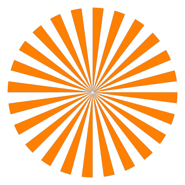 Orange Tweet Bird PNG icon