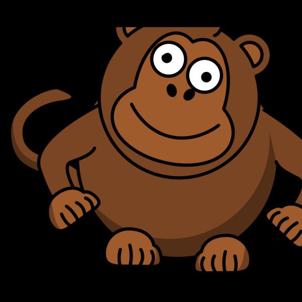 Monkey Topper PNG Clip art