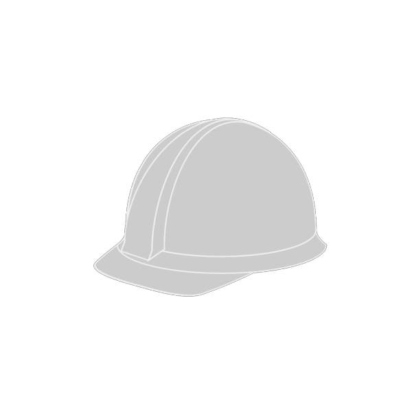 White Hard Hat PNG Clip art