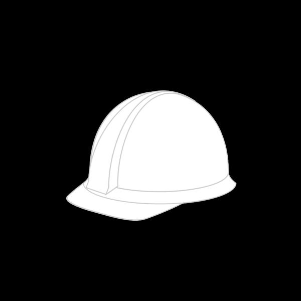 White Hard Hat PNG Clip art