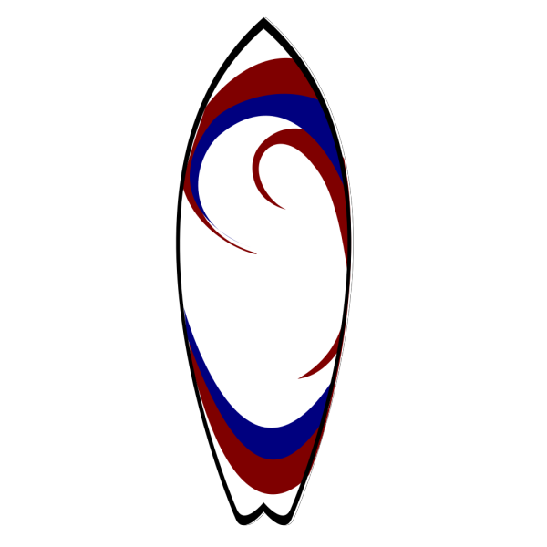 Surfboard PNG clipart