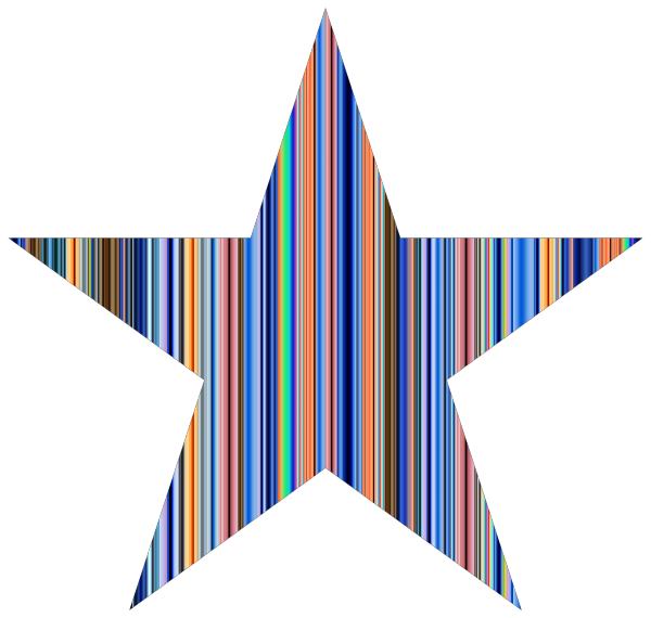 Star Blue PNG Clip art