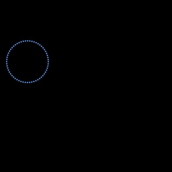Ncg Blue Dots PNG Clip art