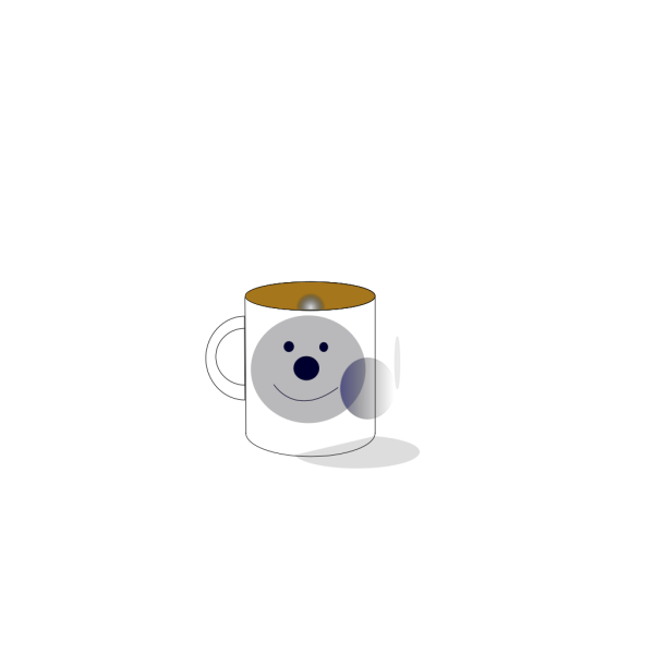 Navy Blue Mug PNG images