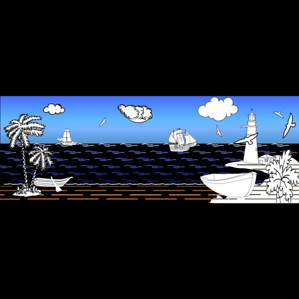Coast PNG Clip art