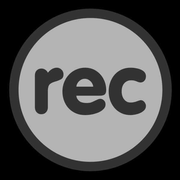Black Vinyl Record PNG icon