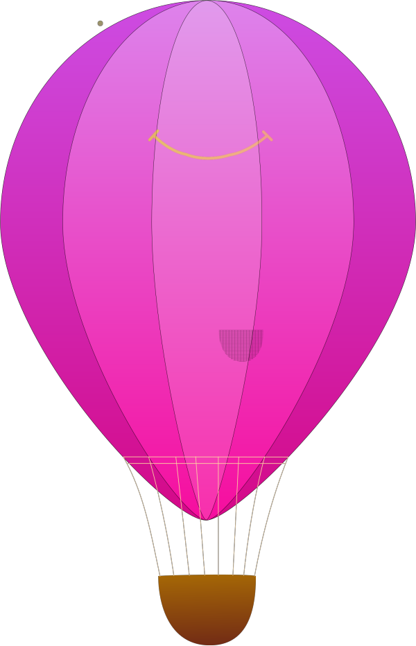 Hot Air Balloon PNG clipart