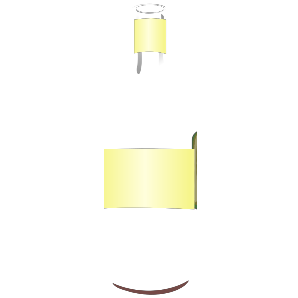 Dark Blue Wine Bottle PNG Clip art