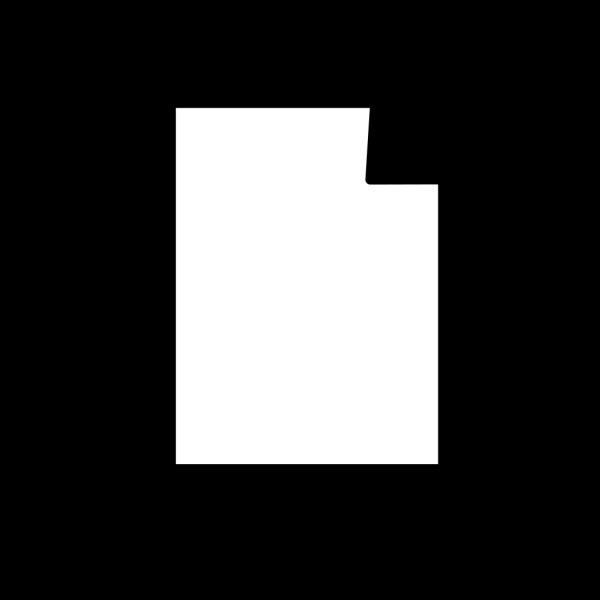 Paper Crane Outline PNG images