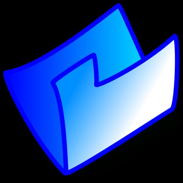 Blue Folder PNG images