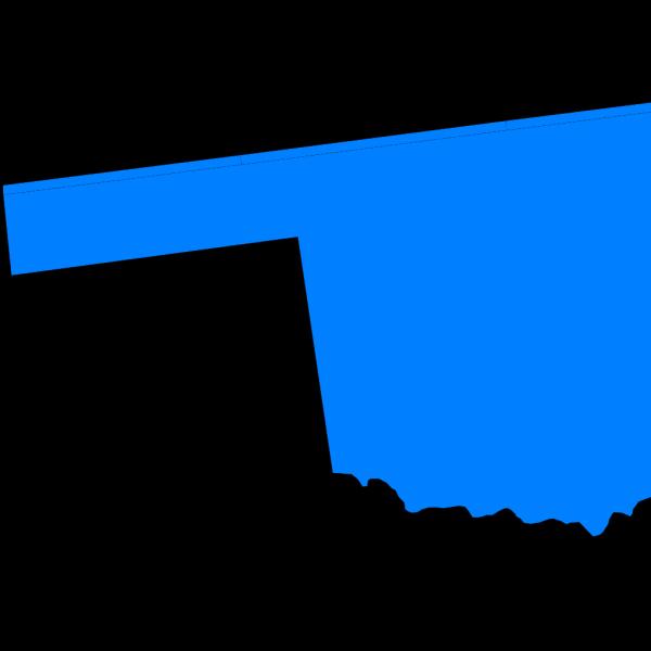 Oklahoma Blue/purple PNG Clip art