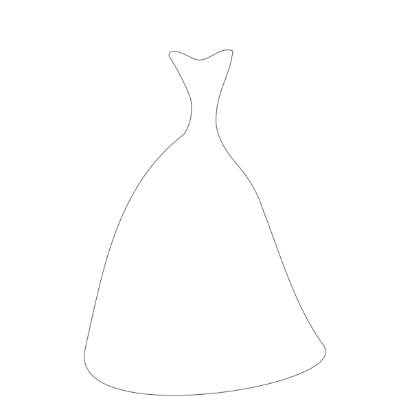 Bride Dress PNG Clip art
