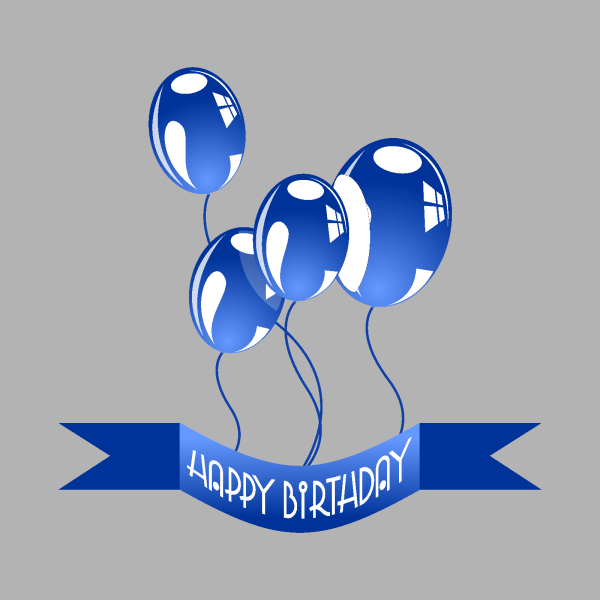 Purple And Blue Balloons PNG Clip art