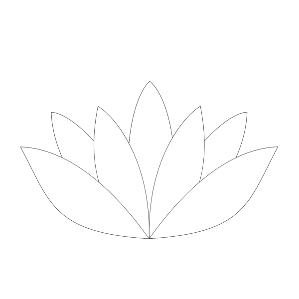 Red Blue Lotus PNG Clip art