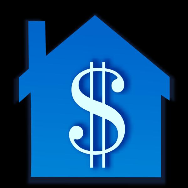 Blue House 2 PNG Clip art