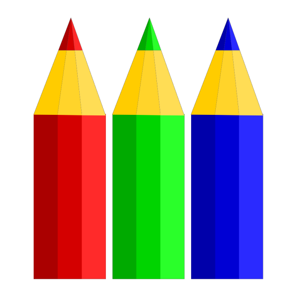 Color Pencils PNG Clip art
