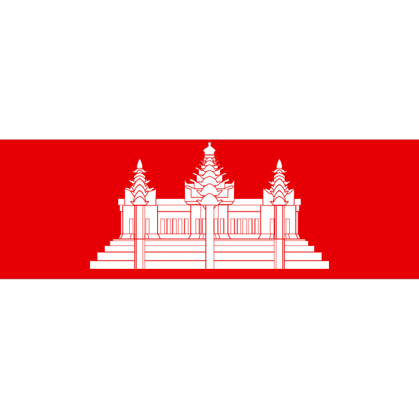 Cambodia Khmer Flag PNG icons